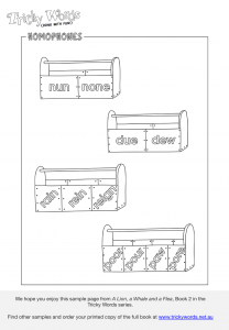 Homophones toolboxes